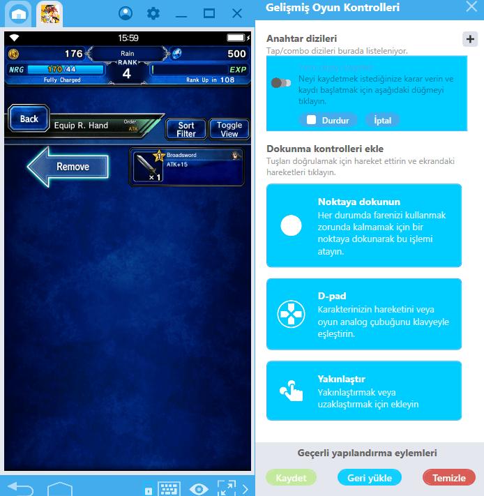 Oyun Kayıt Tuşu İle Final Fantasy Brave Exvius Oynamak Çok Daha Kolay