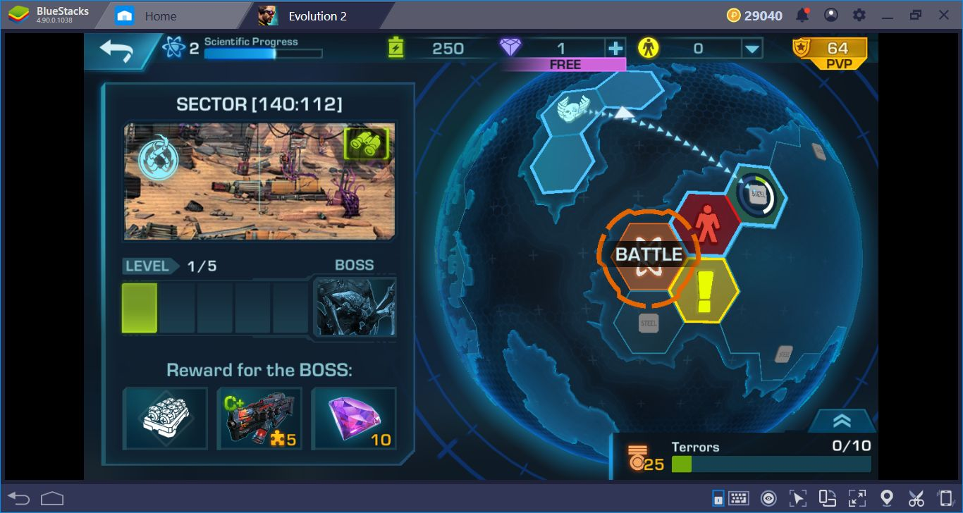 Saving The Mankind With BlueStacks- The Setup Guide For Evolution 2: Battle for Utopia
