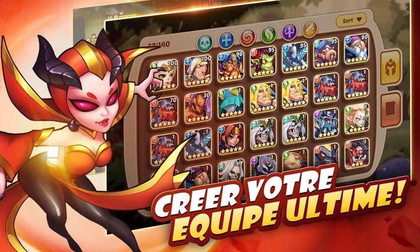 Jouez à  Idle Heroes sur PC 4