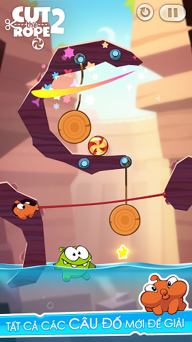 Chơi Cut The Rope 2 on PC 6
