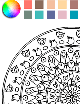 Play Mandala Coloring Pages on PC 2