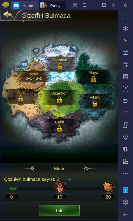 Evony: Kralın Dönüşü Oyununda Güçlü Bir İmparatorluk Kurmanın Yolları