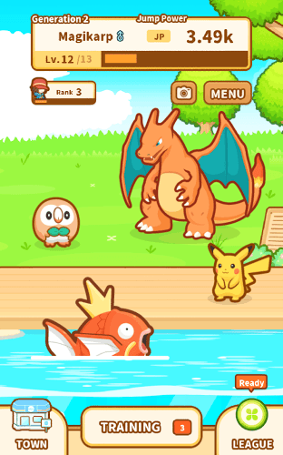 Play Pokémon: Magikarp Jump on pc 16