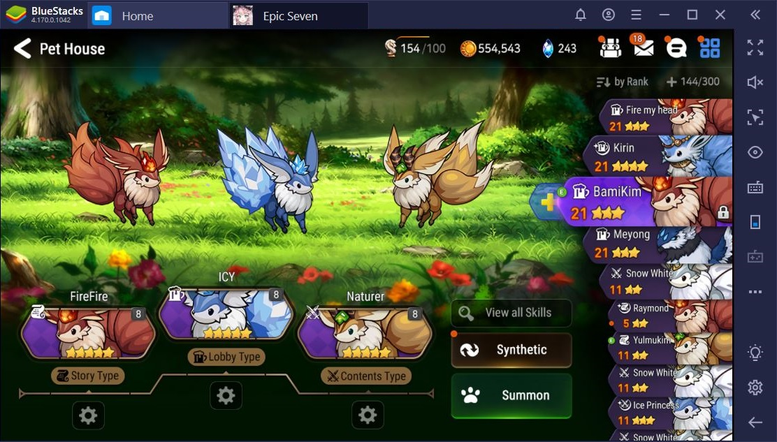 Epic Seven on PC: Everything You Need to Know About Pets