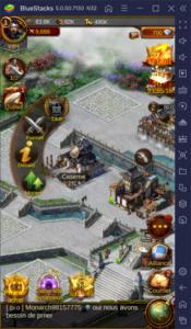 Comment lever une puissante armée dans Evony The King's Return