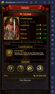 Les généraux dans Evony : The King's Return – Présentation des meilleurs généraux et du système de héros