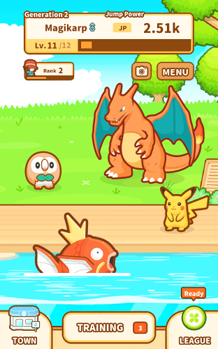Play Pokémon: Magikarp Jump on pc 11