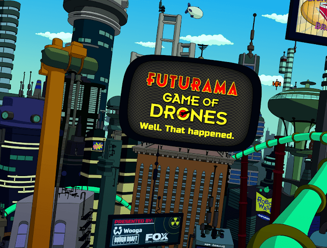 Play Futurama: Game of Drones on pc 17