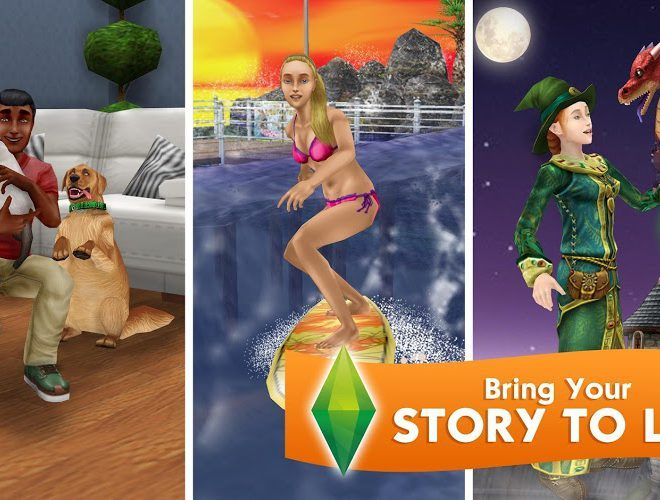Main The Sims Freeplay on PC 7
