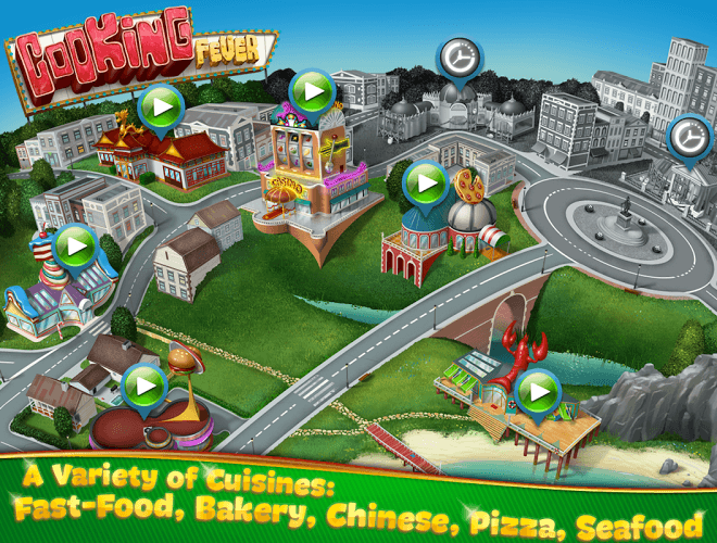 إلعب Cooking Fever on pc 16