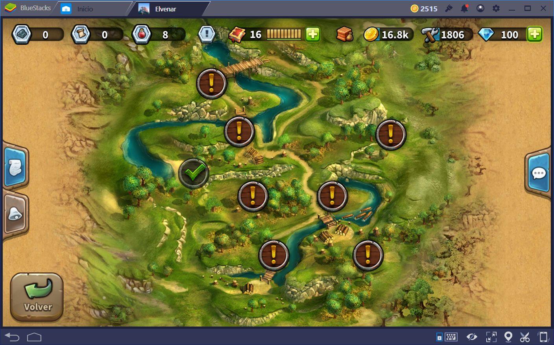 Guía del Mapa en Elvenar