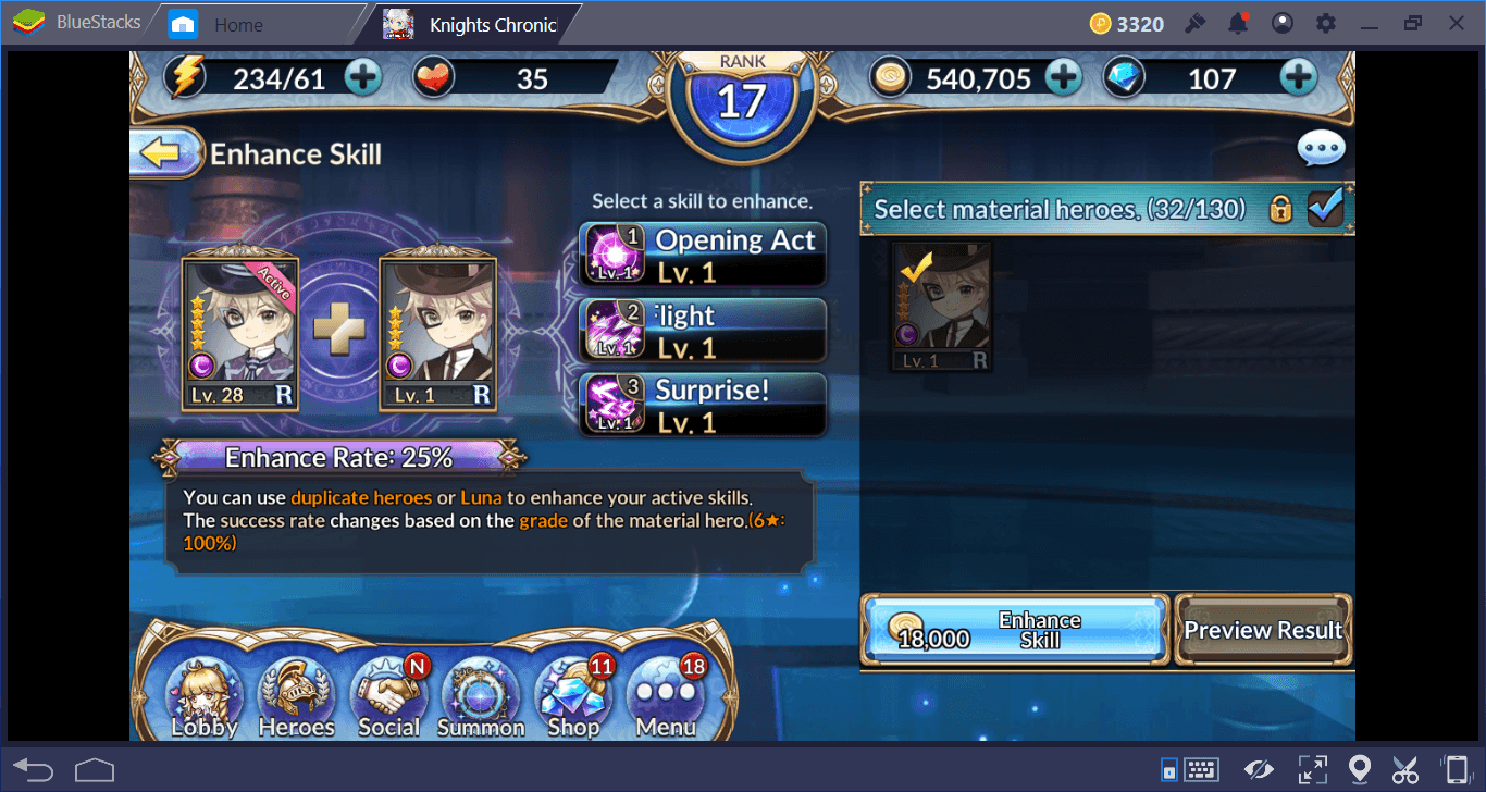 Knights Chronicle Advance Tips & Tricks