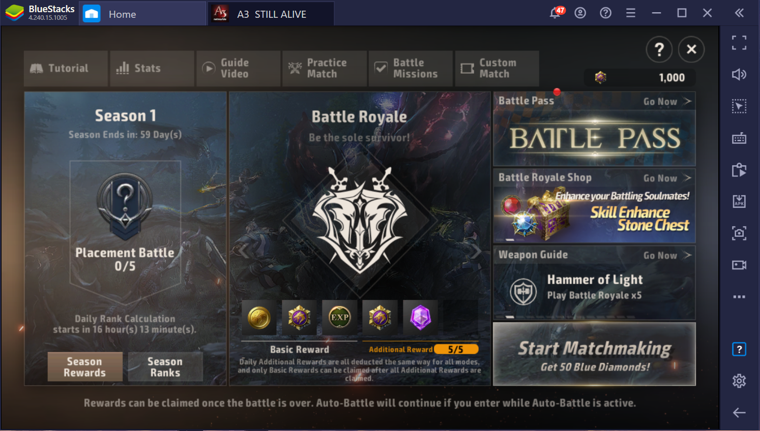 Enjoy the Combination of MMORPG & Battle Royale in A3: STILL ALIVE on PC with BlueStacks