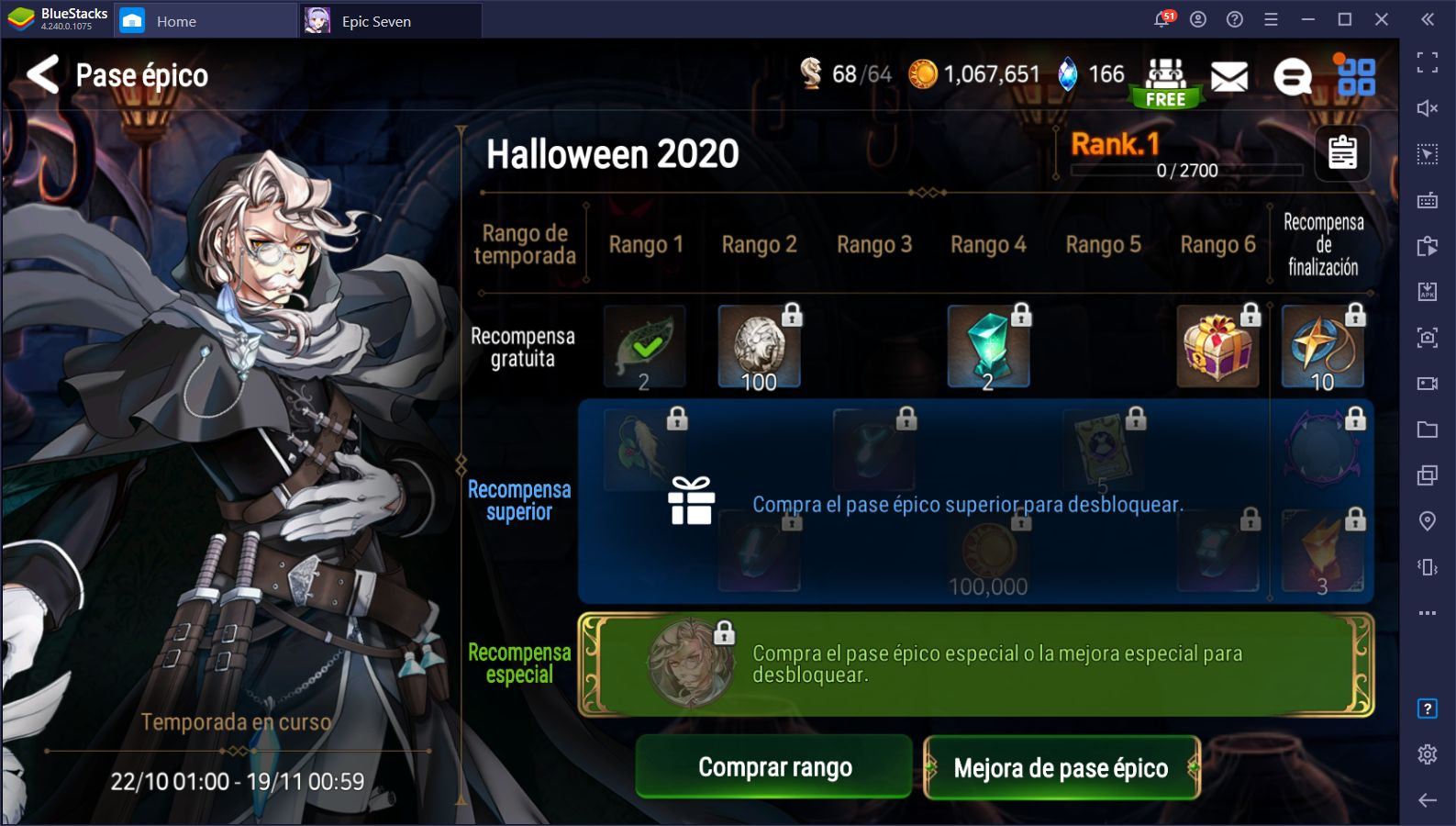 Halloween 2020 en Epic Seven – Pase Épico Exclusivo y Nuevos Estandartes de Invocación