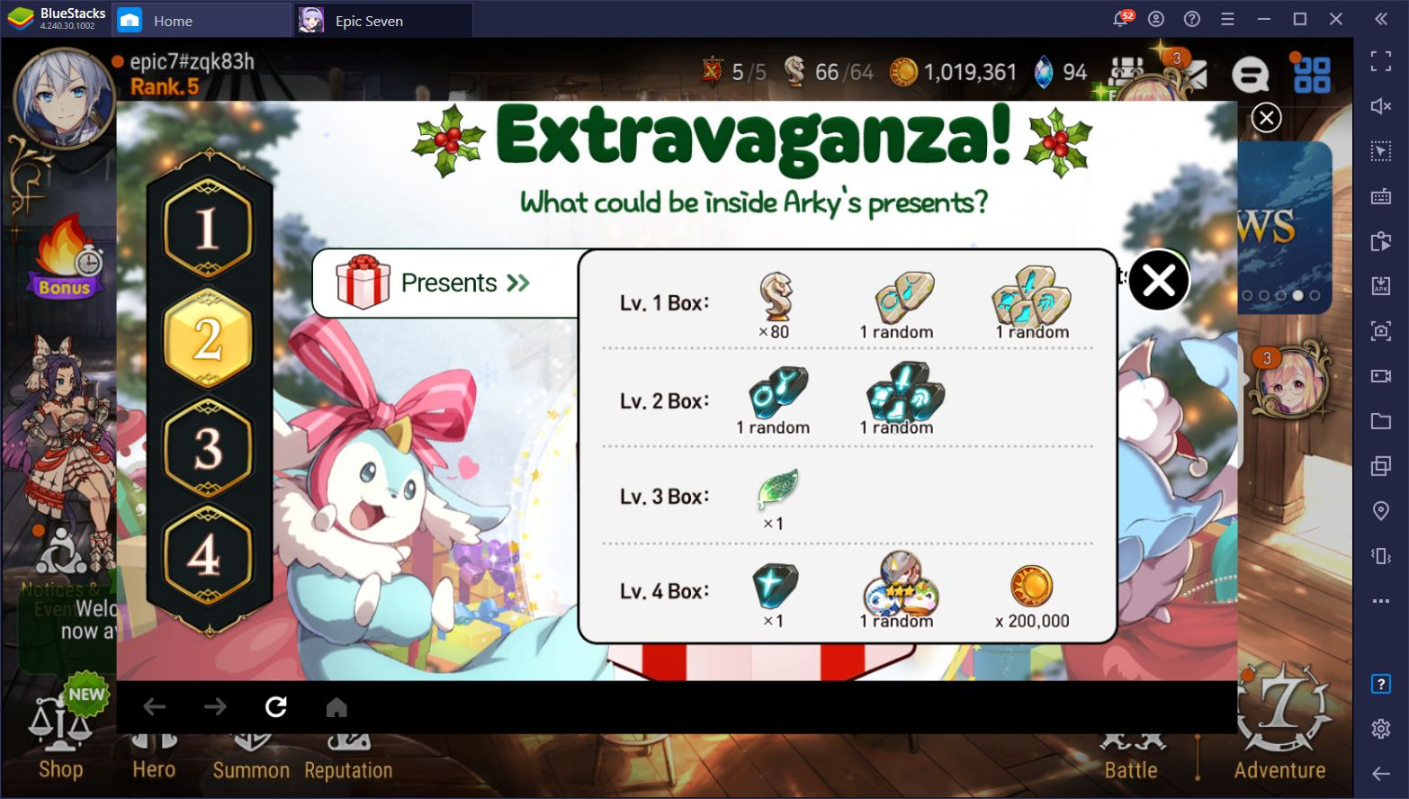 Epic Seven 'Present Extravaganza' Event Gives Players Unique Rewards for Contributing