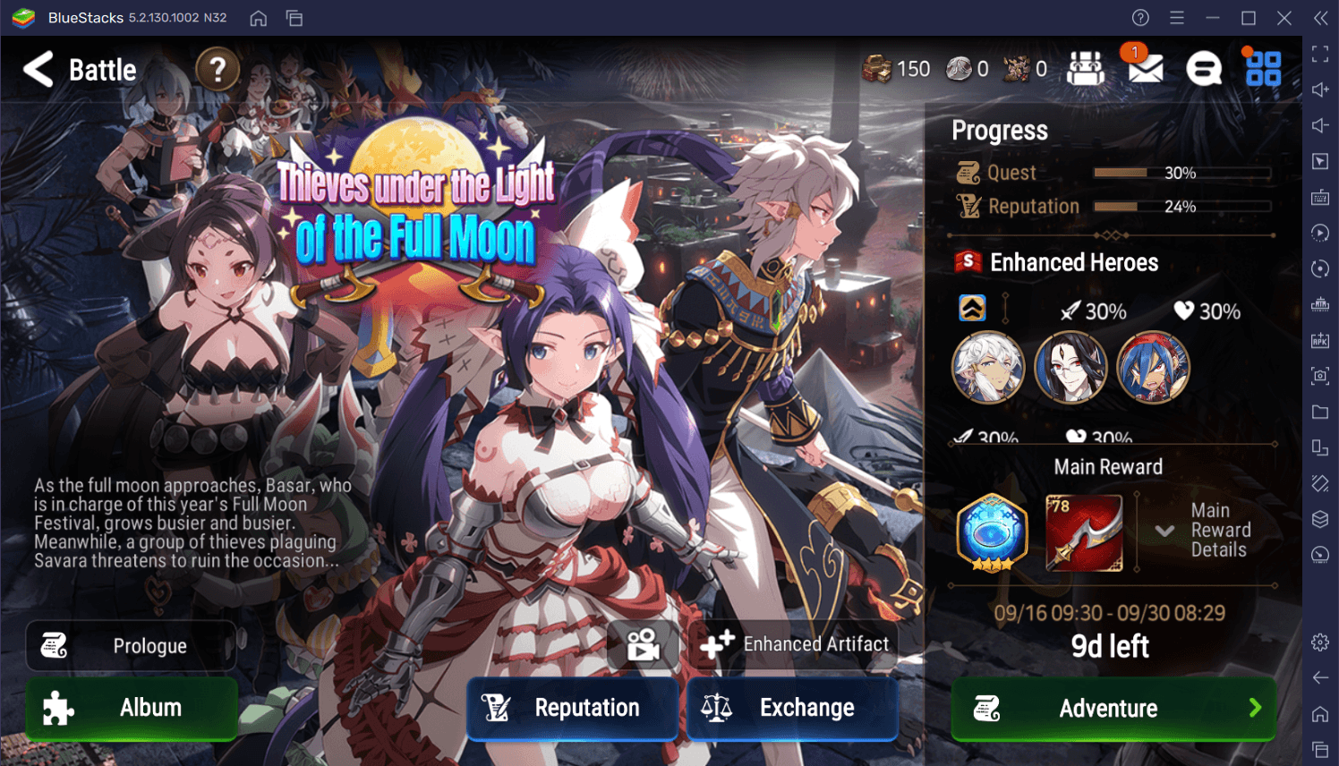 Epic Seven – New Moonlight Heroes Belian, Angel of Light Angelica, and New Side Story