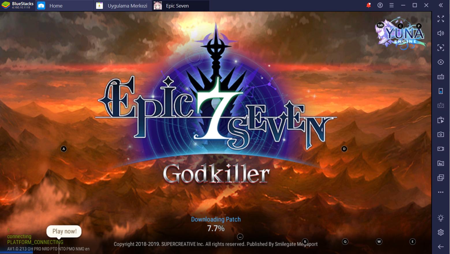 Epic Seven BlueStacks ile PC Kurulum Rehberi