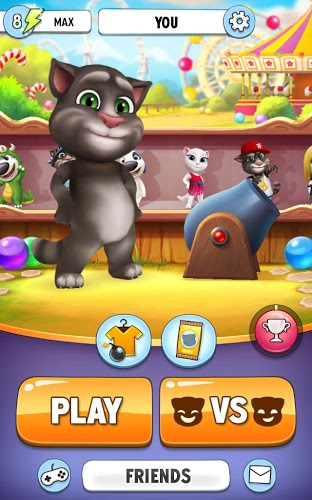 Play Talking Tom Bubble Shooter on PC 10