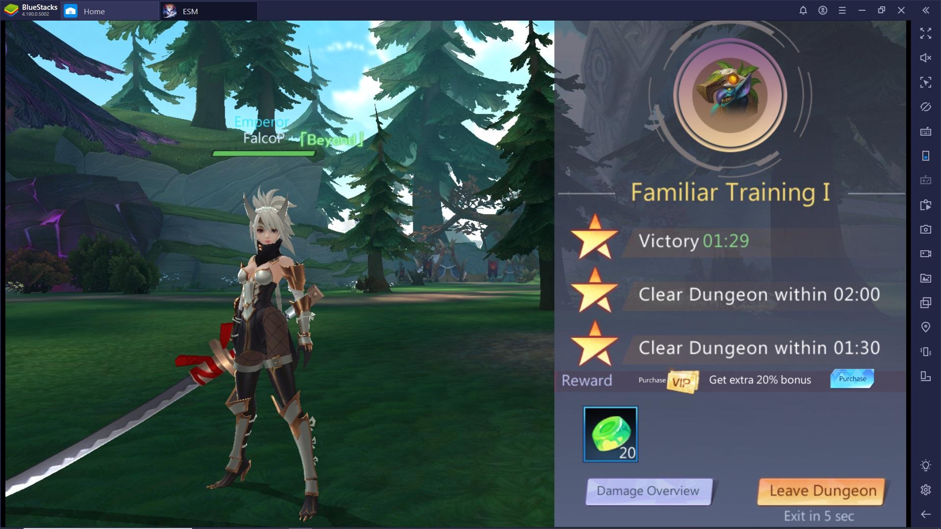 Guida per i nuovi giocatori di Eternal Sword M