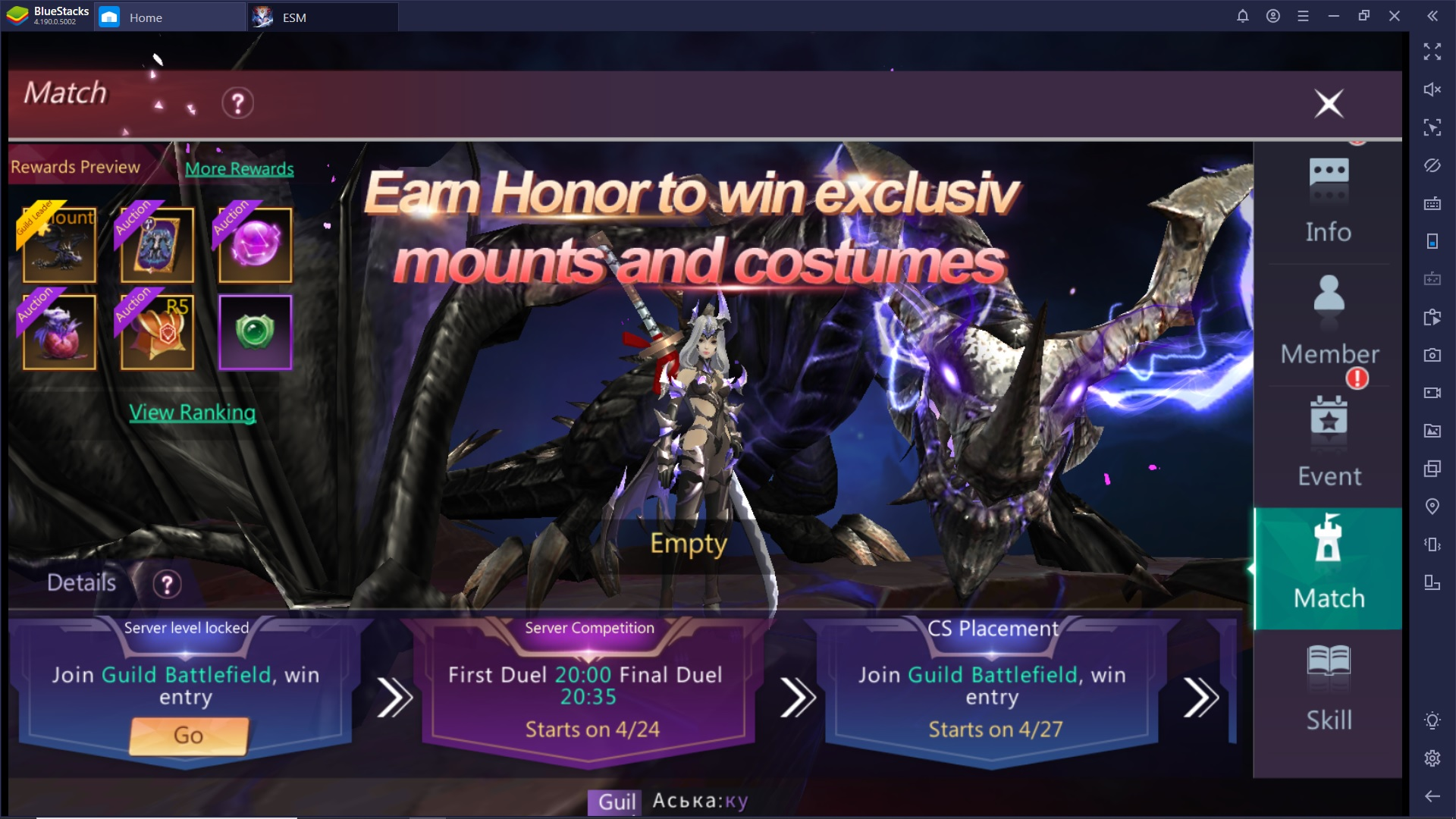 Altre Informazioni e Consigli per Eternal Sword M