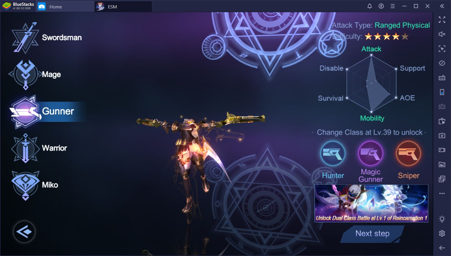 Eternal Sword M on PC - Guide to the Different Classes in the Game