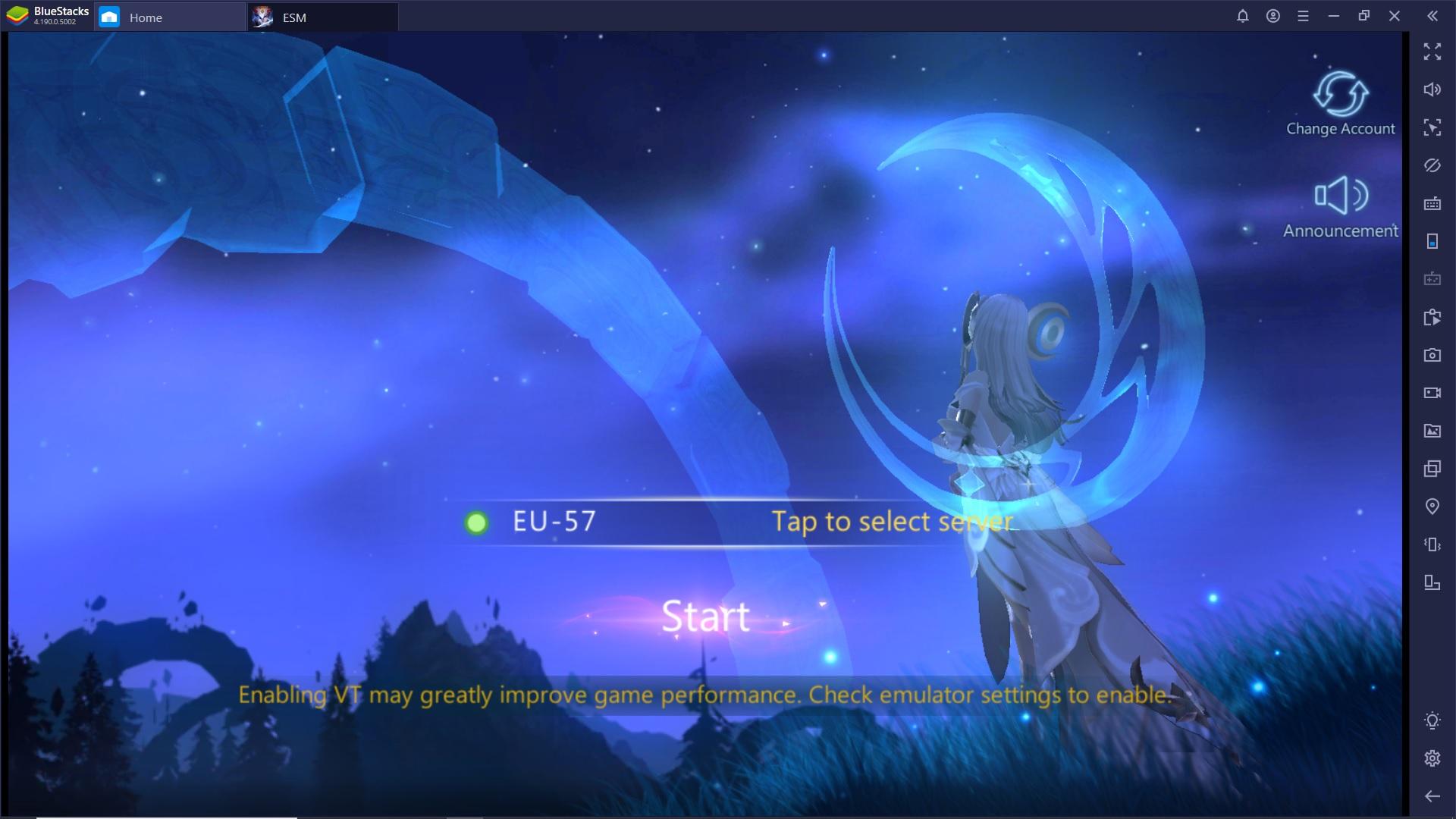 Gioca Eternal Sword M su PC con Bluestacks