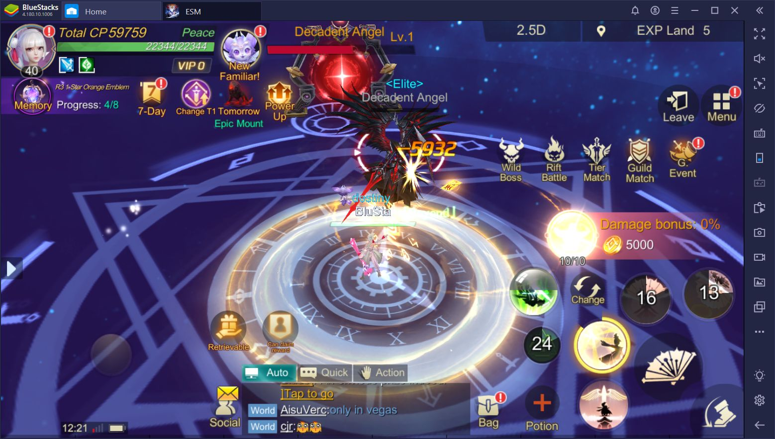 Eternal Sword M on PC - Beginner's Guide for Daily Challenges and Upgrades