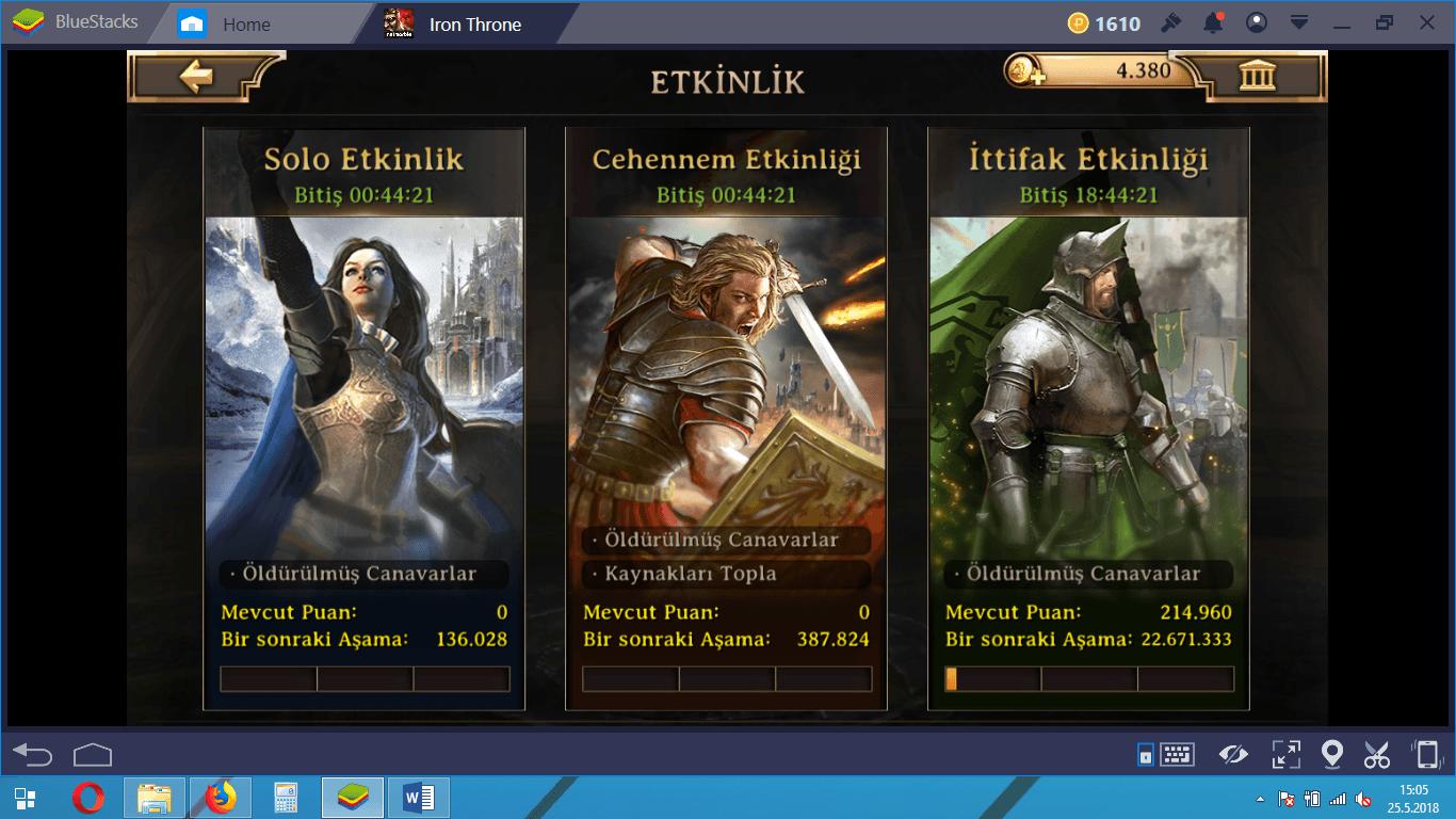 Iron Throne İleri Düzey Taktik ve Tavsiyeler