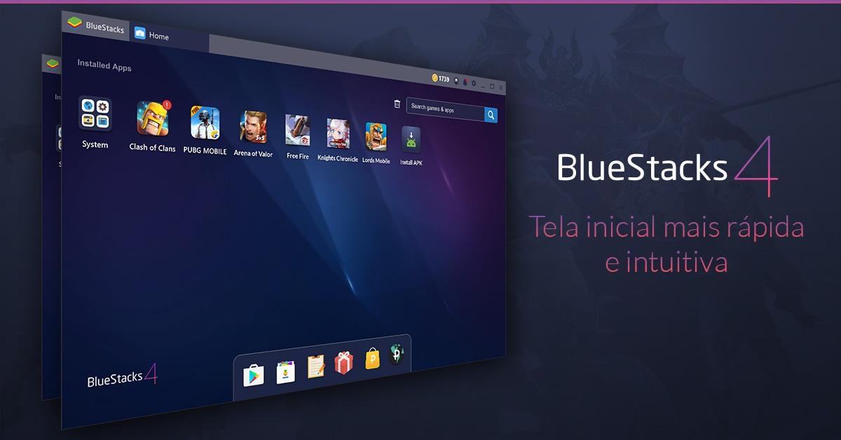 Tudo o que você precisa saber sobre a nova interface de BlueStacks 4