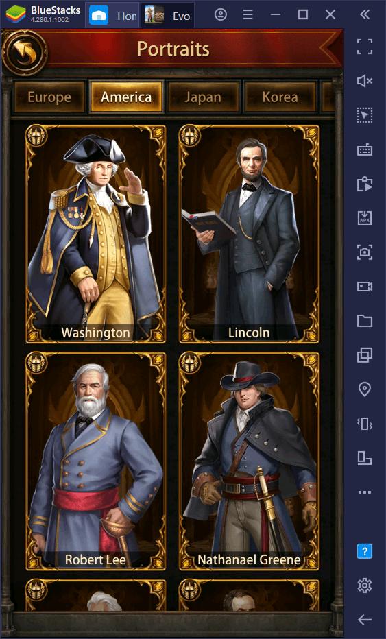 لعبة Generals in Evony: The King's Return – أفضل الجنرالات ومقدمة لنظام البطل