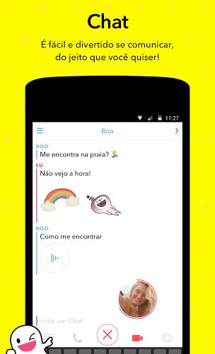 Jogue Snapchat app on pc 3