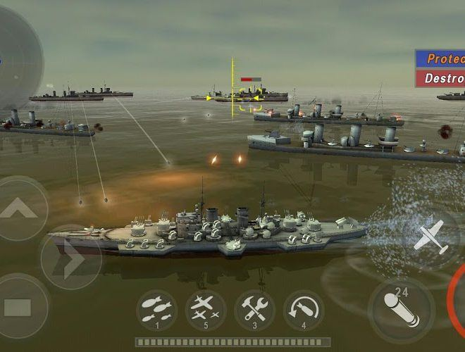 Chơi Warship Battle World War II on pc 7