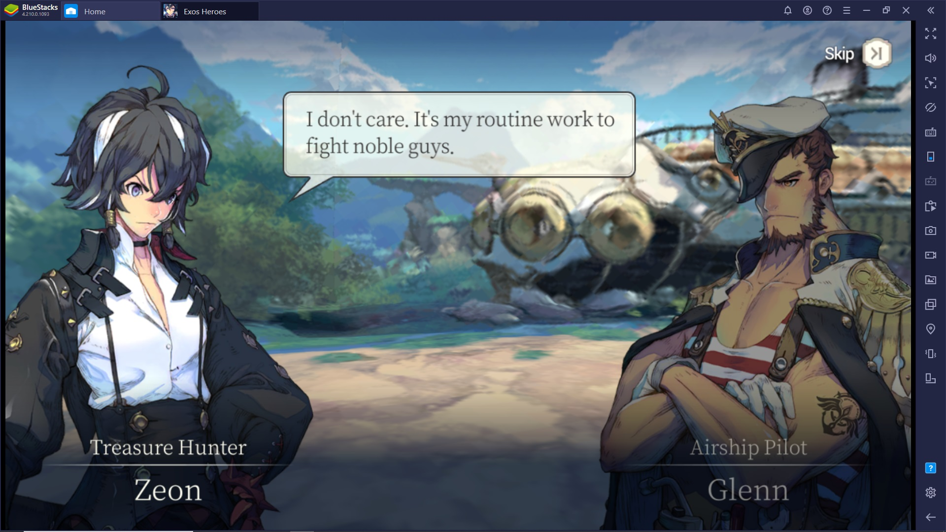 Exoes Heroes è un nuovo imperdibile Gacha RPG