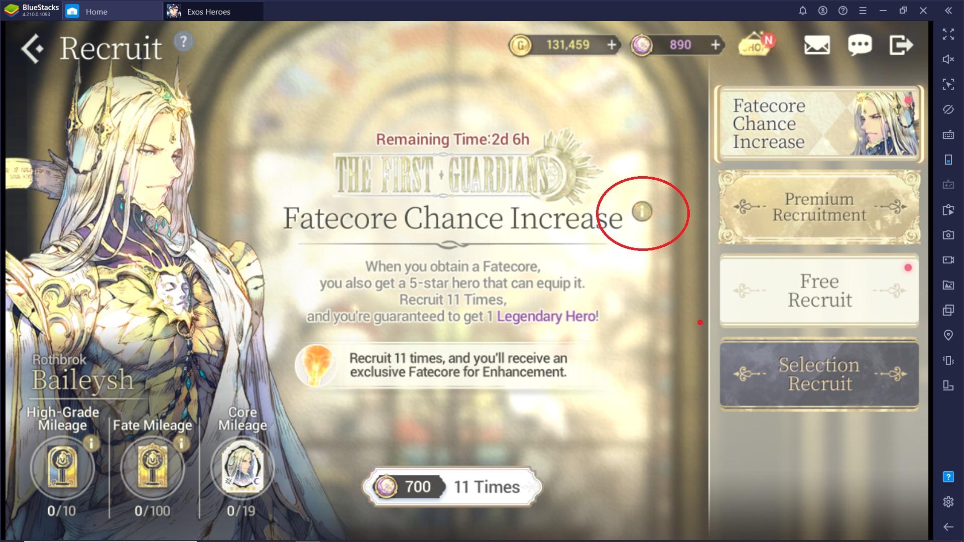 Sfrutta il Reroll in Exos Heroes per reclutare personaggi più rari