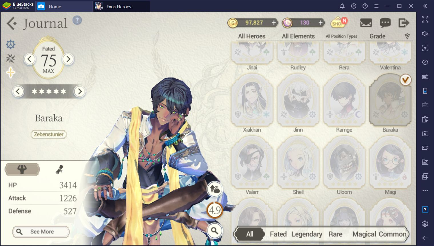 Rerolling in Exos Heroes - Summoning the Best Characters In the Game