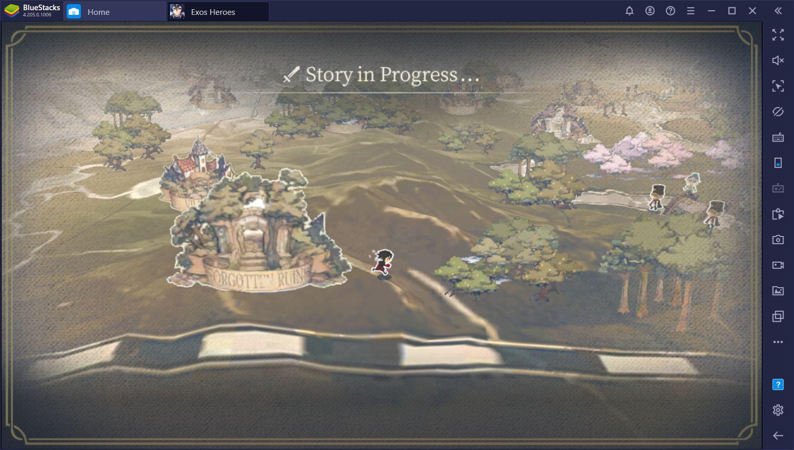 Guide débutant sur les combats dans Exos Heroes