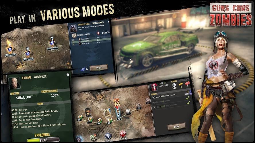 Играй Guns, Cars, Zombies На ПК 9