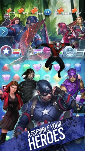 Play Marvel Puzzle Quest on PC 5