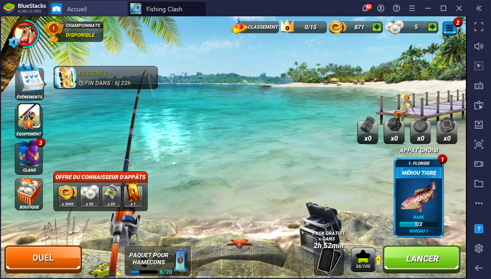Fishing Clash – Le guide complet sur les cannes à pêche