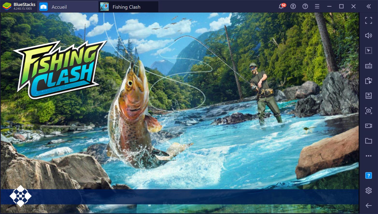 Apprenez à attraper des poissons sur BlueStacks dans Fishing Clash
