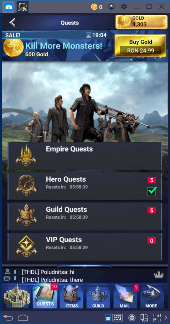 Final Fantasy XV: A New Empire – A Guide to Quests and Monsters