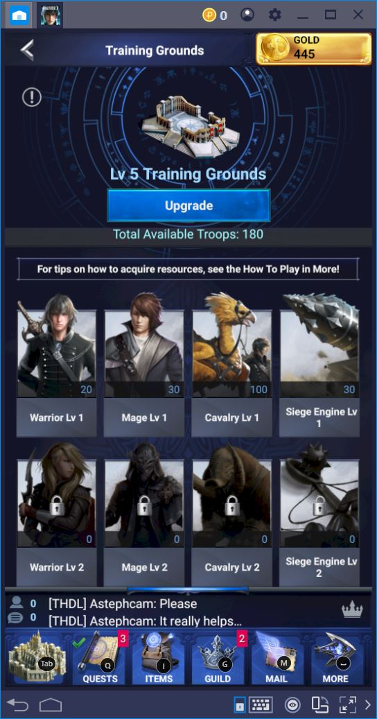 Build a Glorious New Empire in Final Fantasy XV with BlueStacks
