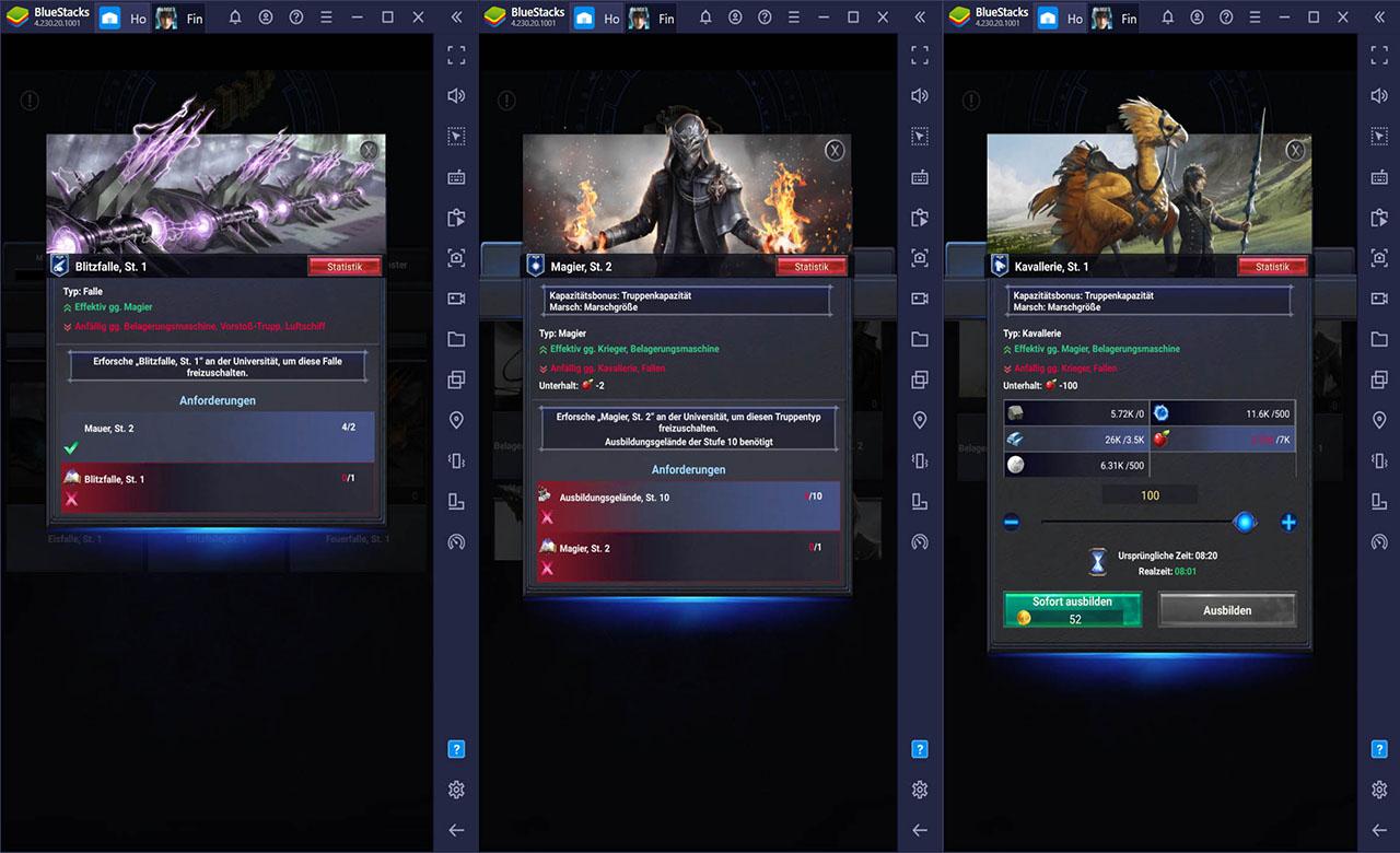 Final Fantasy XV: A New Empire – Wie man eine effektive Eroberungs-Armee aufbaut