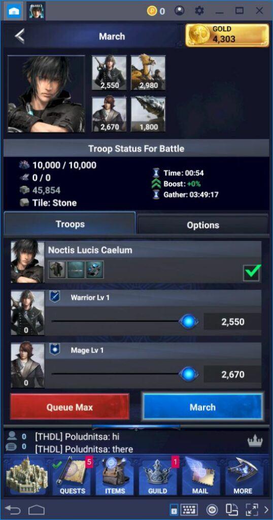 Final Fantasy XV: A New Empire – So verbesserst und verwendest du deine Helden