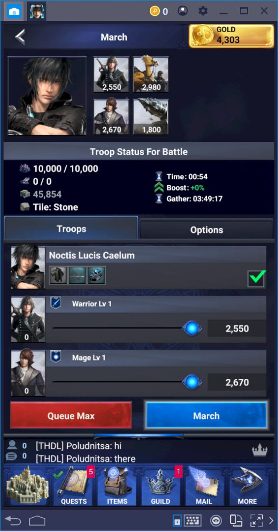 Final Fantasy XV: A New Empire – How to Upgrade and Use Your Hero