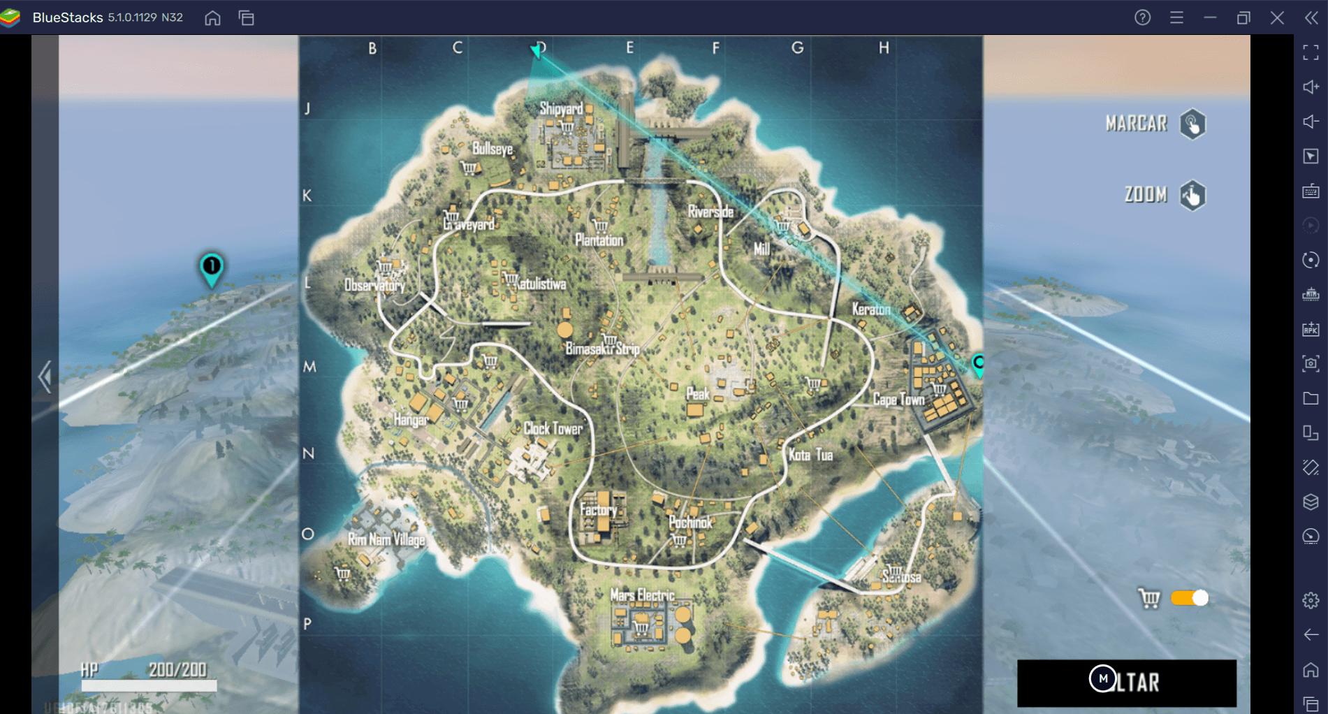 Free Fire: Saiba onde pousar em Bermuda de acordo com o seu estilo de jogo