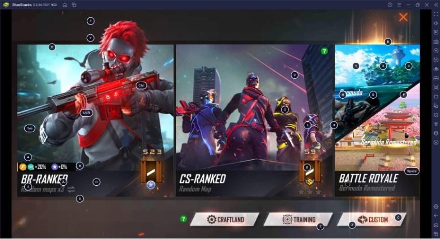 Free Fire Max Craftland: Создавай свои карты и отправляйся в бой