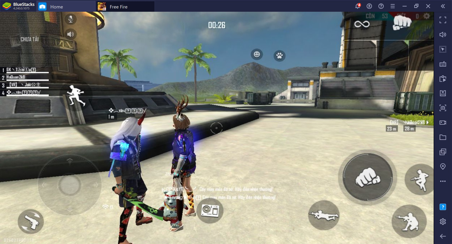 Free Fire Guide BlueStacks Edition: Start Taking Dragshots with Ease