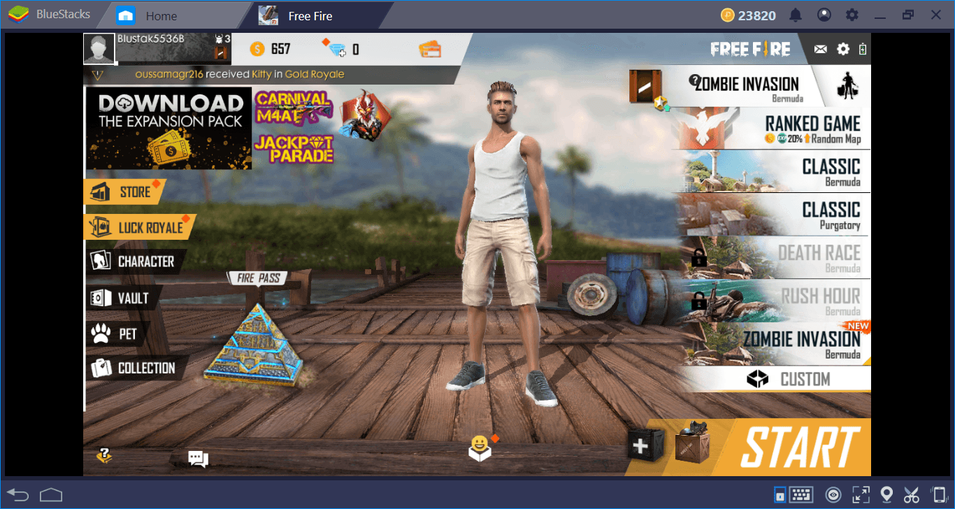 Returning To Garena Free Fire Islands Zombies Pets And