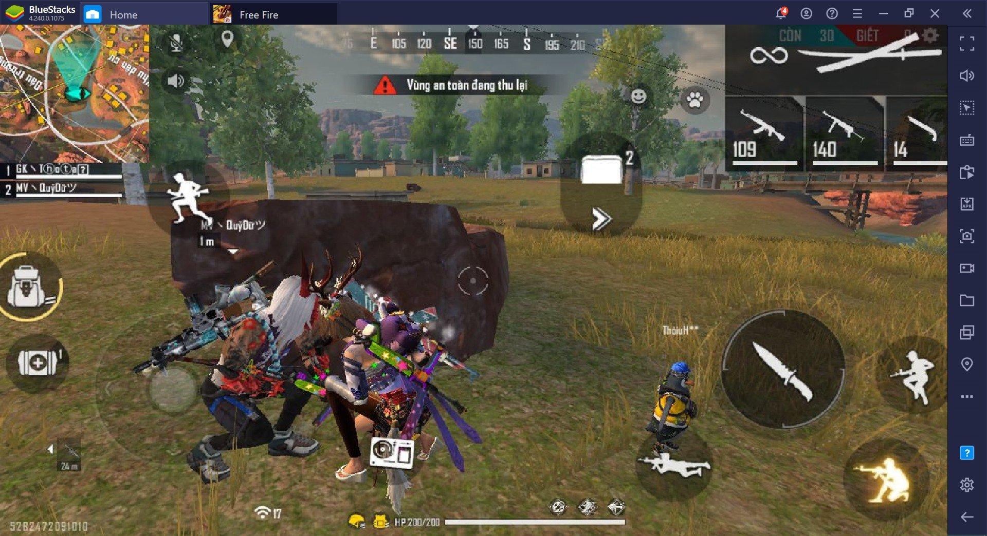 Guia de Sniper do Free Fire: Campere debaixo dos olhos dos inimigos